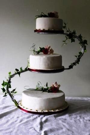 3 Tier S Shaped Cake Stand Wedding Pinterest Cake