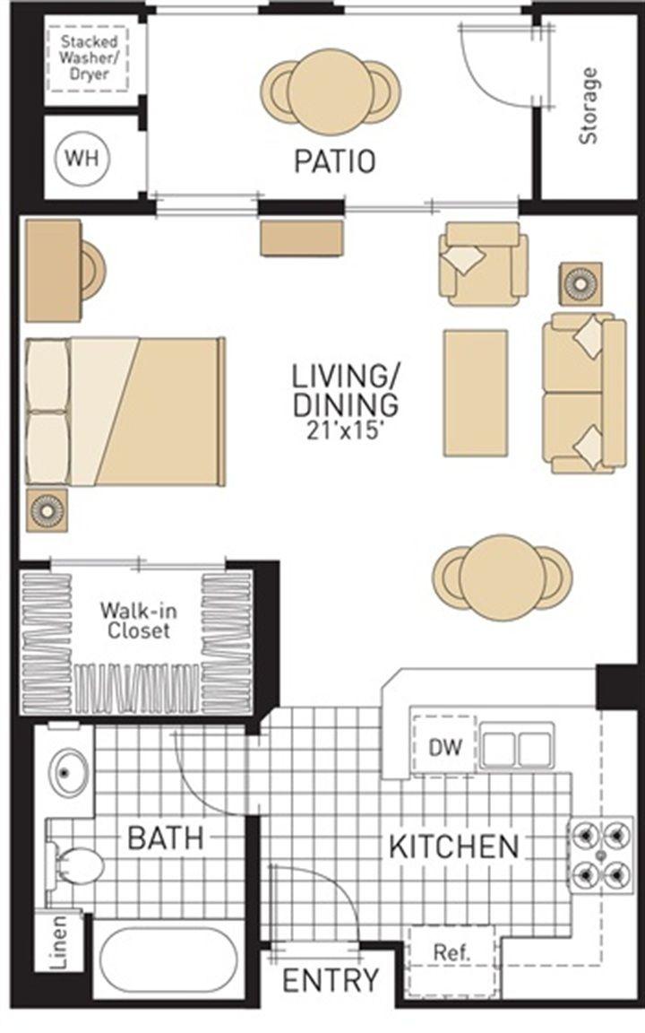 studioapartmentplanandlayoutdesignwithstorage