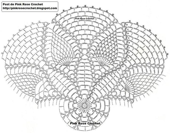 17 Best images about Crochet: Doily Patterns on Pinterest