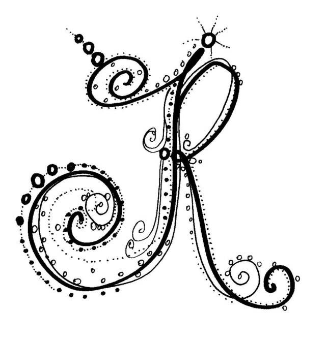 339 best images about Zentangled Letters on Pinterest