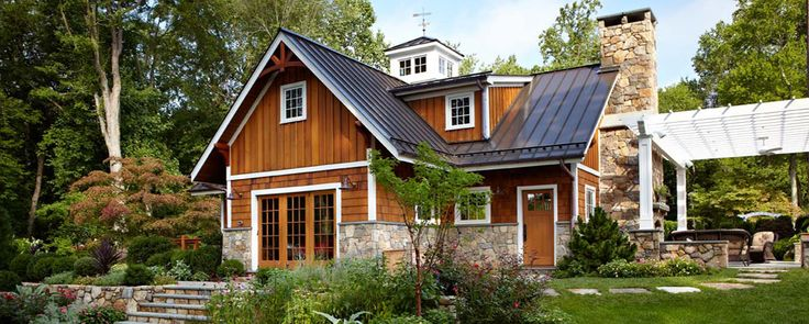 Dreaming Of Home Stone And Cedar Shake Exteriors