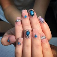 17 Best ideas about Fall Acrylic Nails on Pinterest ...