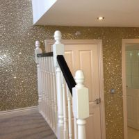 One Glitter wall. For closet or vanity room. | All things ...