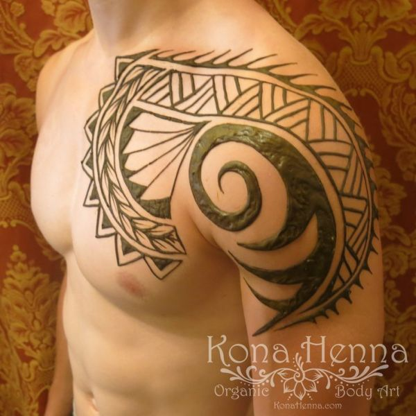 20 Henna Tattoos Across Back Cool For Guys Ideas And Designs