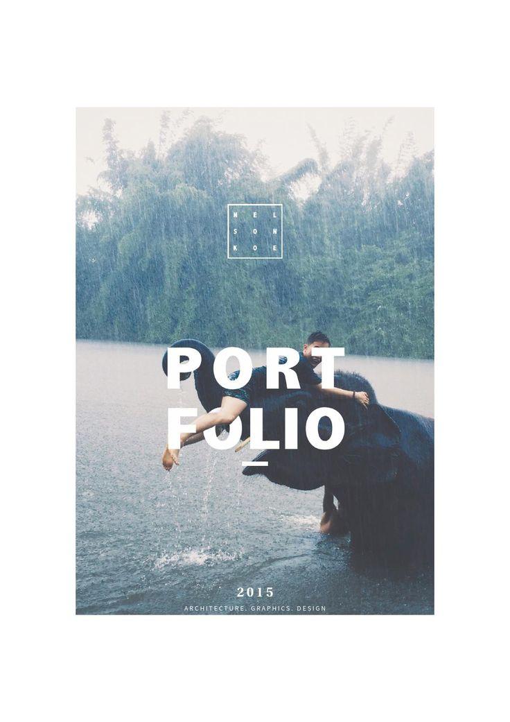 25 Best Ideas About Portfolio Design On Pinterest
