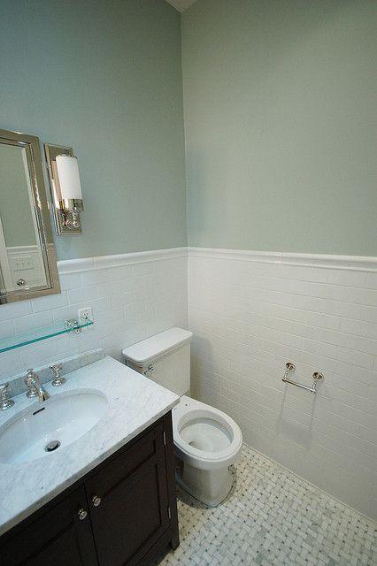 Bathroom Paint Color  quiet moments Benjamin Moore
