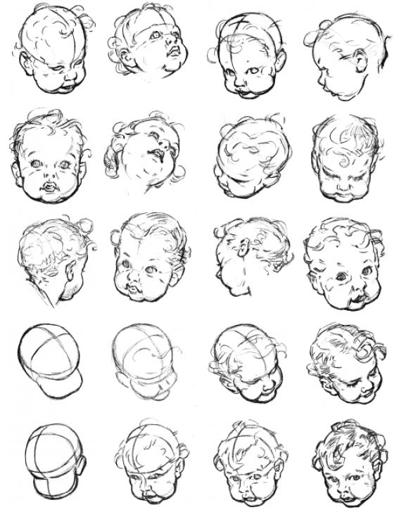 1000+ images about Draw People of Different Ages (Aging