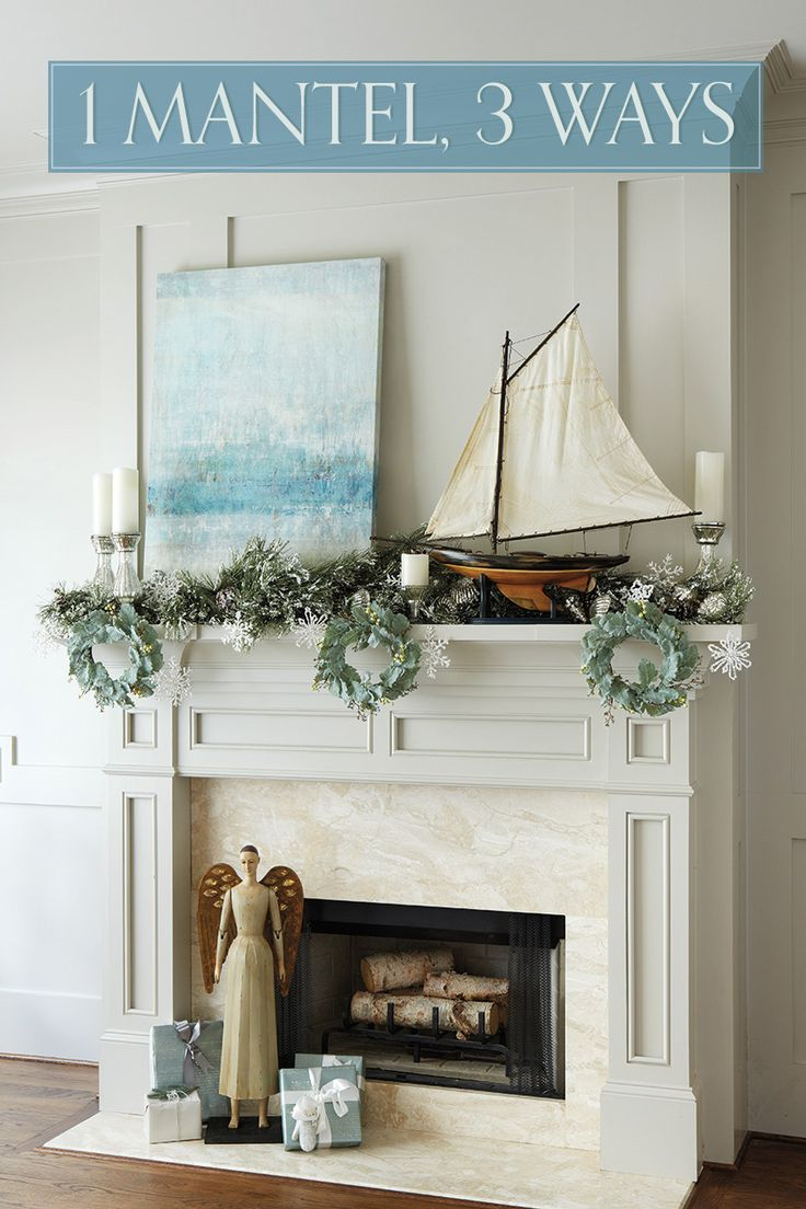 35 Best Images About Coastal Beach Fireplaces Amp Mantels On