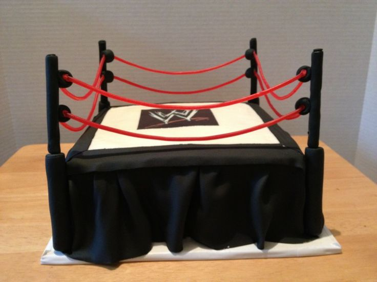 14 Best Images About Wrestling Cakes On Pinterest