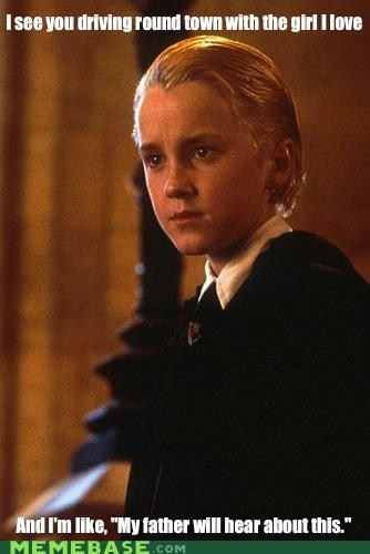 Ermahgerd…I laughed so hard at this. XD I freakin love Draco, though!