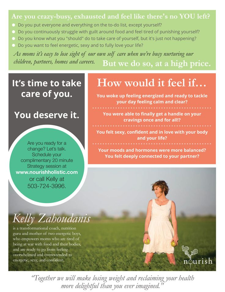 Graphic Design Services Holistic Health Coach Flyer My