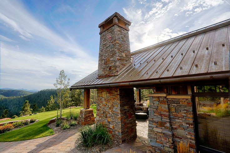 Rustic Metal Roof By Bridger Steel Finish Deepens And