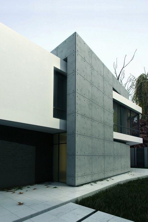 ADDITIVE FORM  INTERLOCKING SPACES Ultra modern house