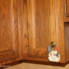 kitchen cabinet cleaner recipe kidkraft red vintage 53173 clean days: all woodwork (+ natural wood ...