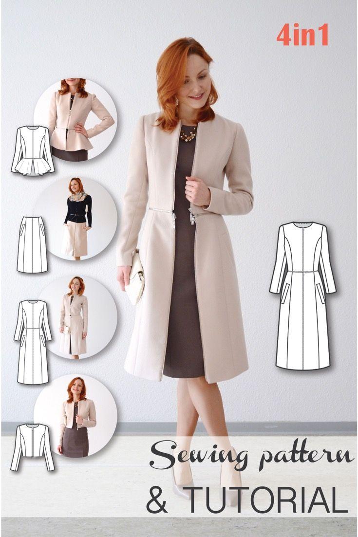 Free Sewing Pattern Bolero Jacket