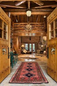Log Cabin Interiors Photo Gallery | Michigan Cedar ...
