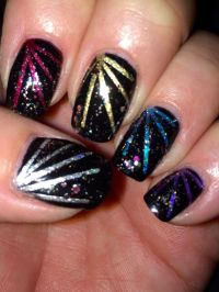 1000+ ideas about Firework Nails on Pinterest | 4th Of ...