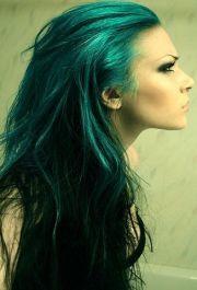 1000 ideas green hair colors