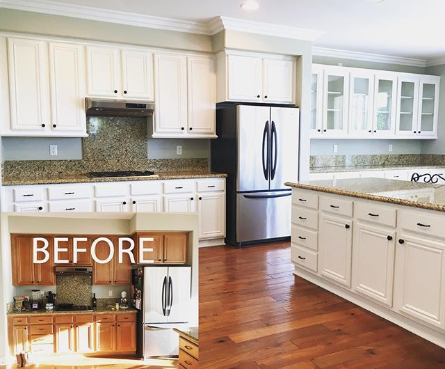 diy refinish kitchen cabinets laminate countertops home depot 25+ best ideas about refurbished on ...