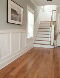 I want to do this wainscoting in my entry hall. I also ...