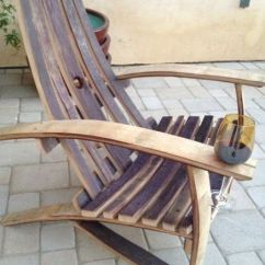 Barrel Stave Adirondack Chair Plans Best Ergonomic Chairs 2016 Wine Free - Woodworking Projects &