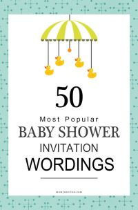 17 Best ideas about Baby Shower Invitations on Pinterest ...