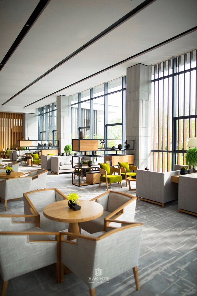 lobby chairs waiting room western painted seating arrangement   boutique hotel design pinterest color schemes and colors