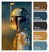 Paint colors from Chip It! by Sherwin