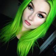 ideas neon green