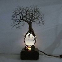 25+ best ideas about Tree lamp on Pinterest | Homemade ...