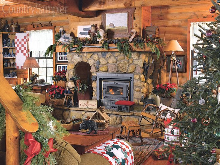 17 Best images about LodgeStyle Christmas Decorating on