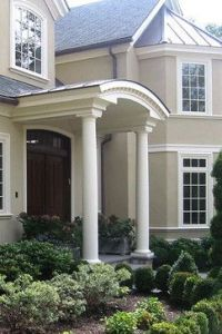 17 Best images about Rounded & Semi-circular Porticos on ...