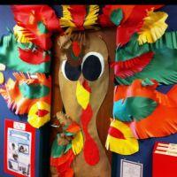 Classroom door for November. | School Decor | Pinterest ...