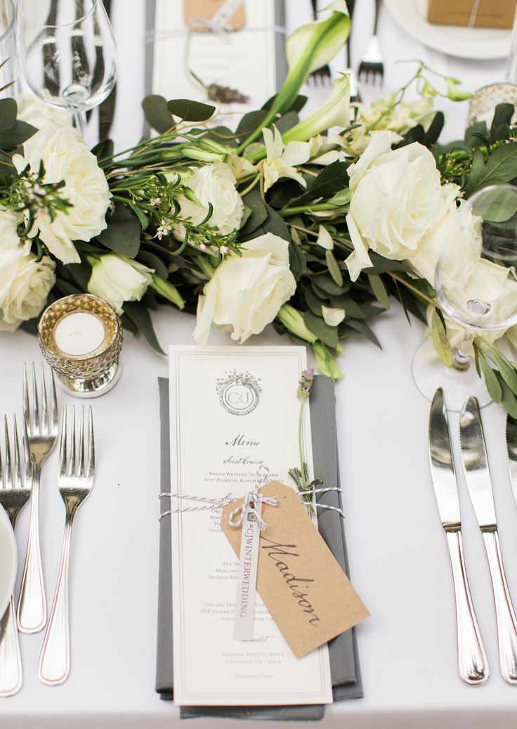 25+ best ideas about Table Place Settings on Pinterest