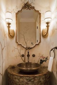 1000+ ideas about Powder Room Mirrors on Pinterest