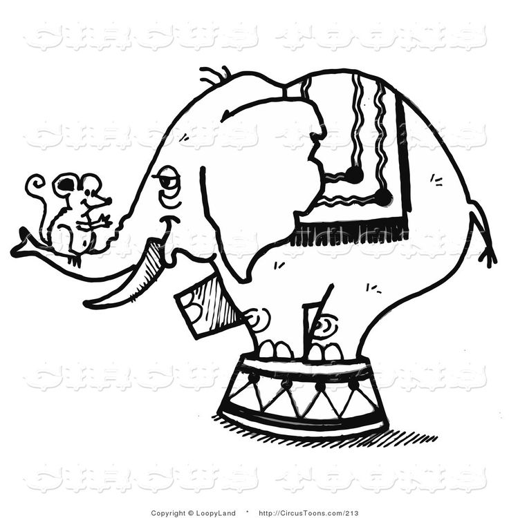circus-clipart-of-a-black-and-white-sketched-circus