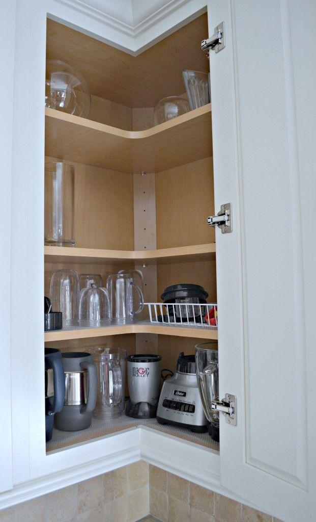 17 Best ideas about Corner Cabinet Kitchen on Pinterest