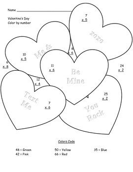 1000+ images about Valentine's Day Math Activities on