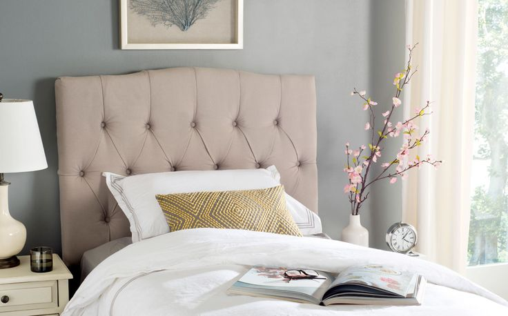 17 Best Ideas About Tufted Headboards On Pinterest