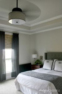 Crazy Wonderful: DIY drum shade ceiling fan | c r a z y w ...