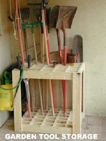 25 Best Yard Tool Storage Ideas On Pinterest Diy Garage Storage