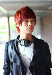 dyed hair guy - google