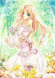 anime goddess beautiful
