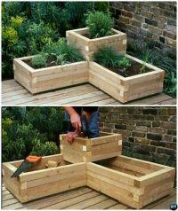25+ best ideas about Wood Pallet Planters on Pinterest ...