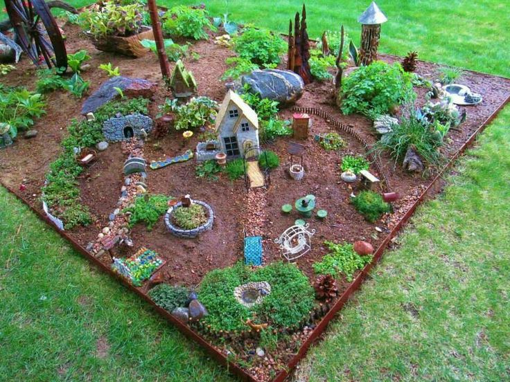 65 Best Images About Fairy Gardens And Houses On Pinterest