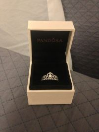 Pandora tiara ring  I feel like I really need this omg
