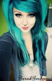 1000 ideas teal hair color