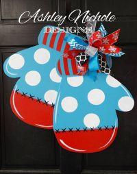 17 Best ideas about Christmas Door Hangers on Pinterest ...