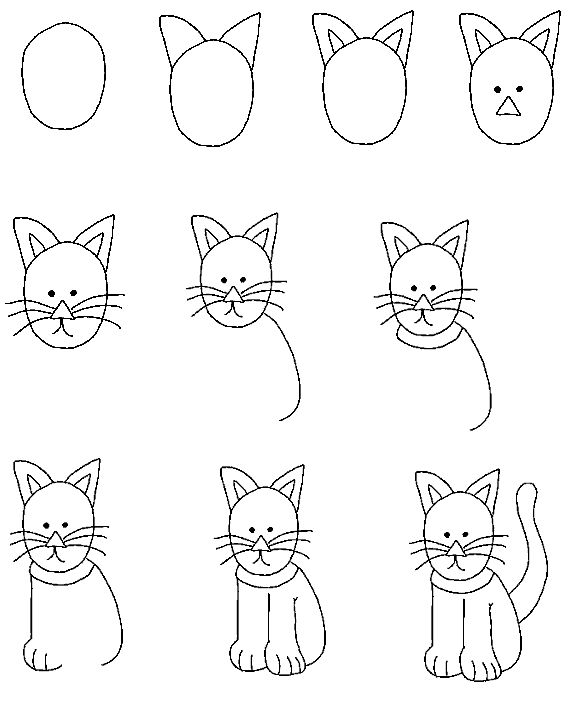 154 Best Drawing Tutorials Cats And Dogs Images