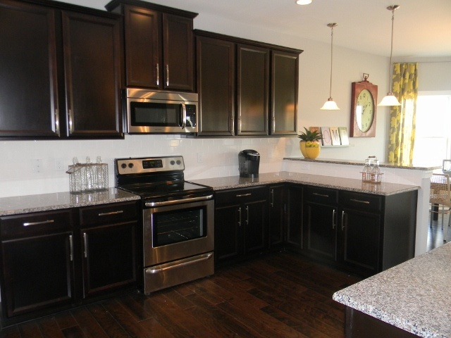 roller kitchen island best rta cabinets timberlake tahoe maple espresso with new ...
